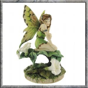 Fairy~Morning Glory Flower Fairy by Linda Ravenscroft~By Folio Gothic Hippy NOW6821